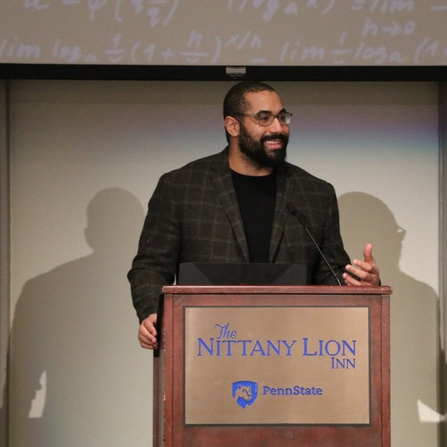 John Urschel Explains How Order and Chaos, Football and Math Coexist in Return Visit to Penn State