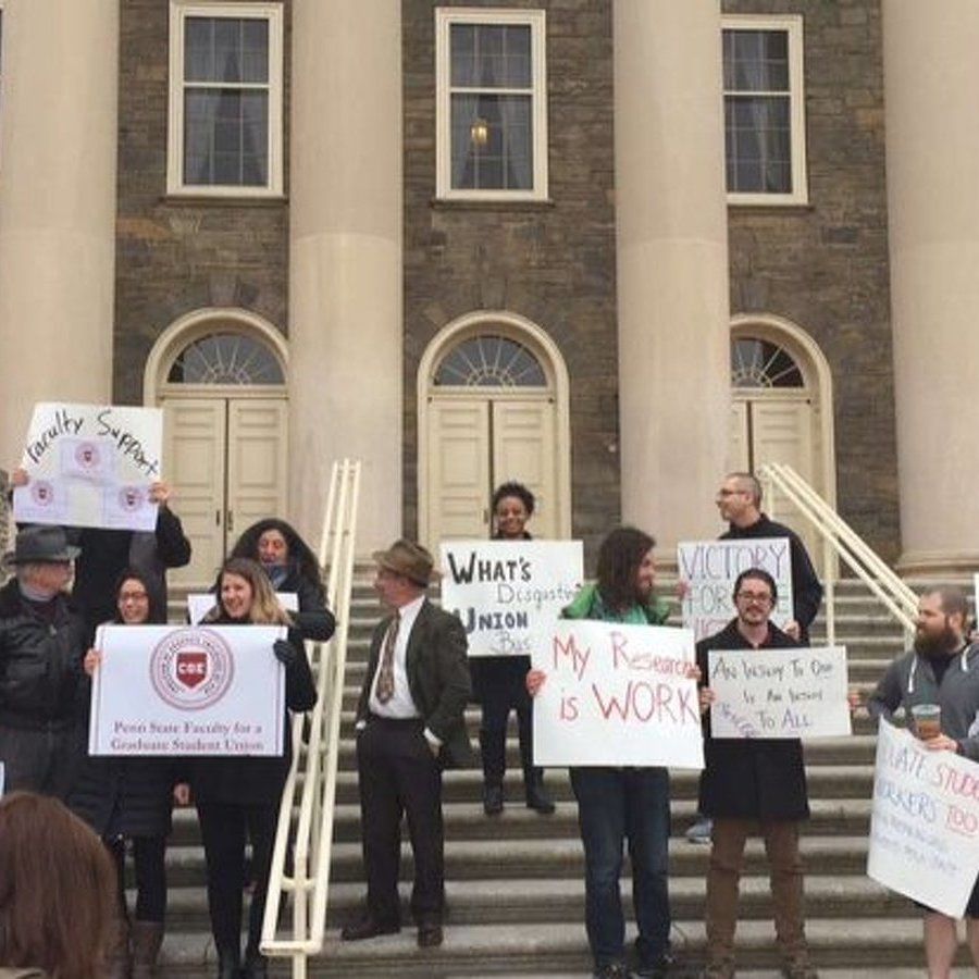 Administrators, Trustees Talk Grad Student Unionization
