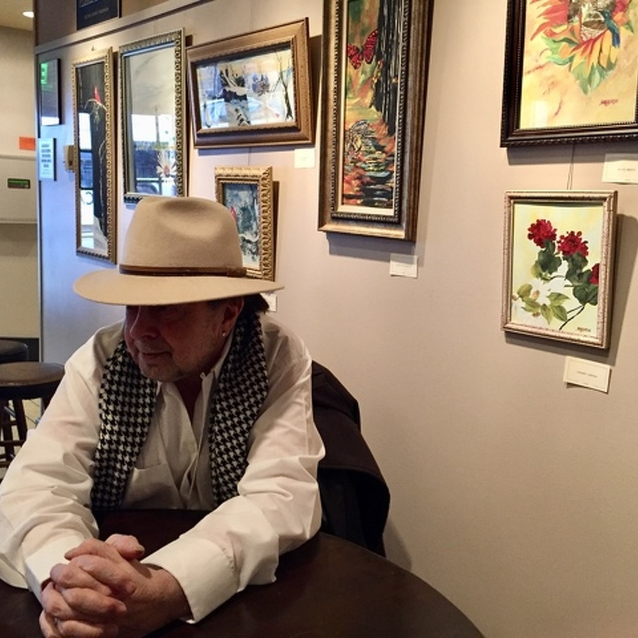 After Hiatus, Artist Shows New Paintings at The State Theatre