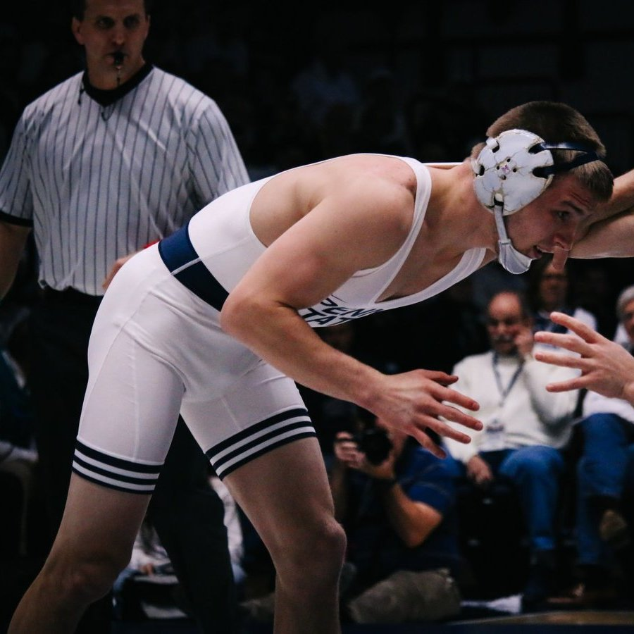 Sanderson, Nolf Give Mixed Signals on the Penn State Wrestling Star's Status for Big Ten Championships