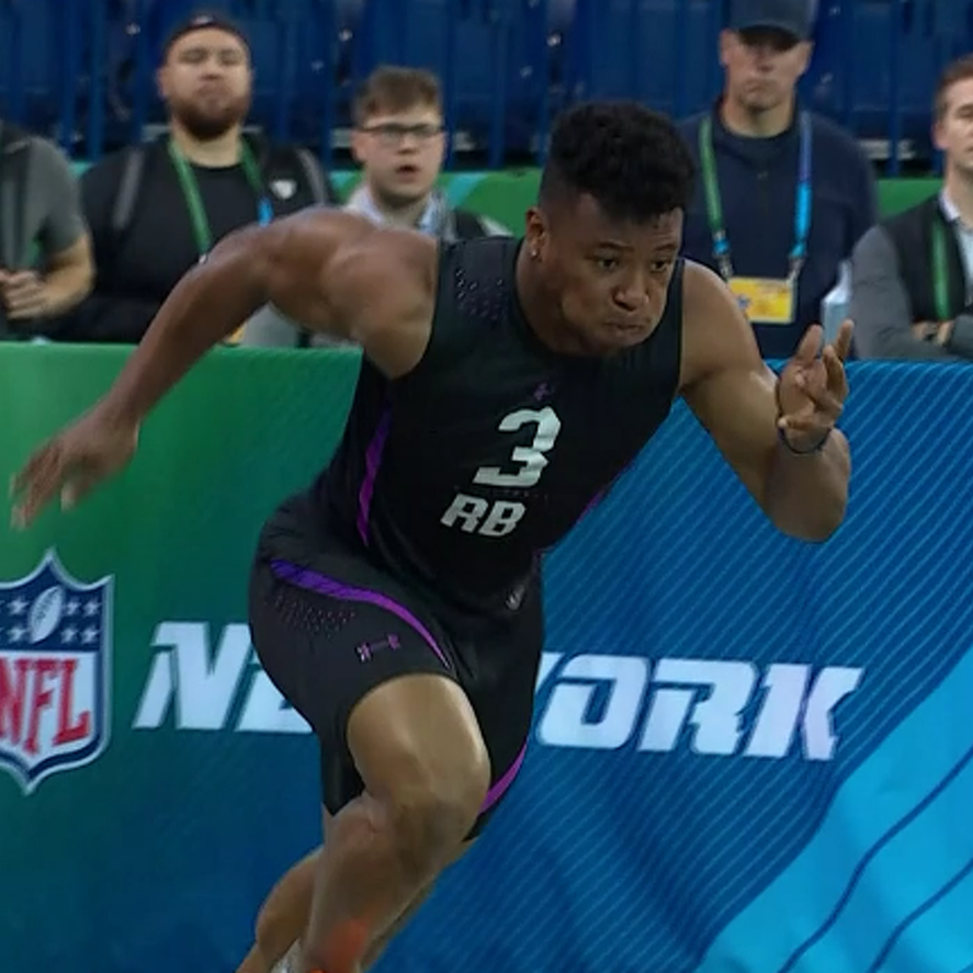 Penn State Football: Watch Saquon Barkley Run A 4.40 40-Yard Dash