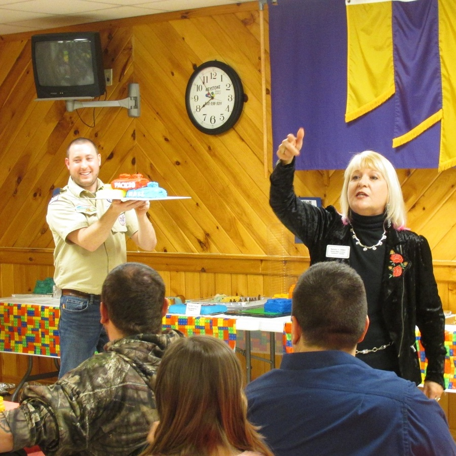 Centre Hall Cub Scouts hold Blue and Gold Banquet