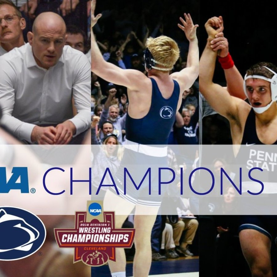 Penn State Wrestling Wins NCAA Championship, Claims 4 Individual Titles