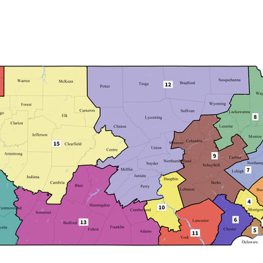 Courts Reject GOP Efforts to Stop New Pa. Congressional Map