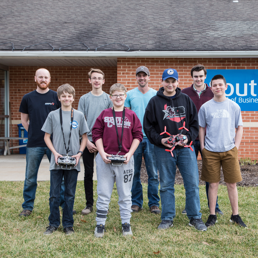 Local teens become certified 'droneologists'