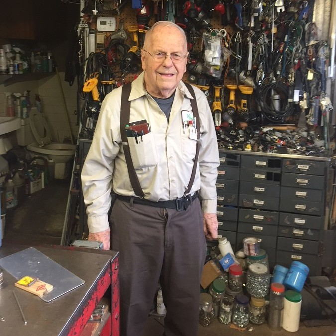 Duck's Sheet Metal owner still working at age 86