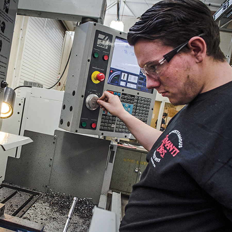 Not Your Father's Shop Class: CPI Is Thriving, as It Teaches Technology for the Future