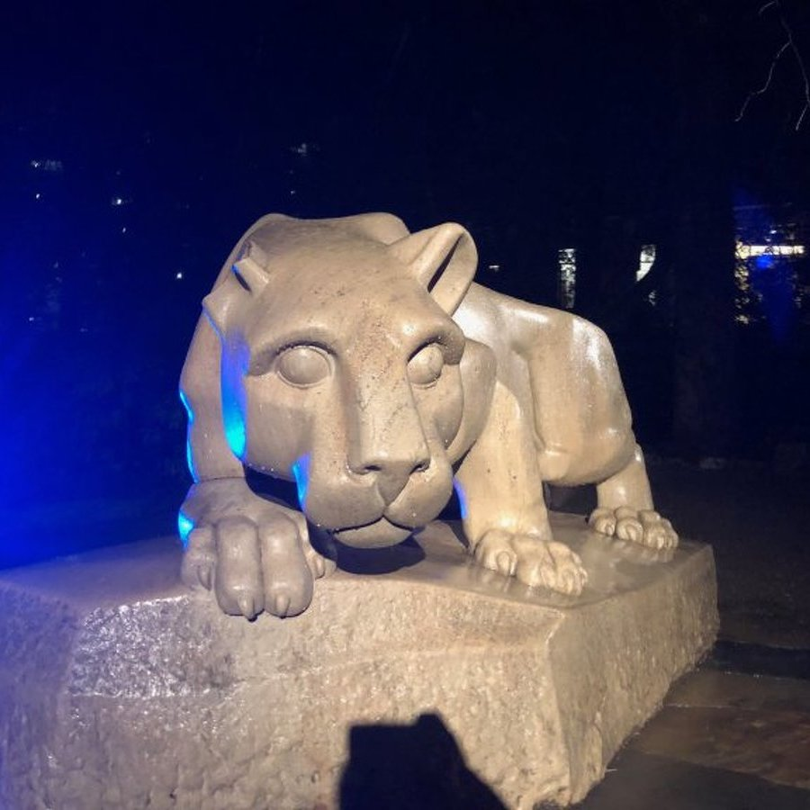 Two Charged with Breaking Nittany Lion Shrine's Ear