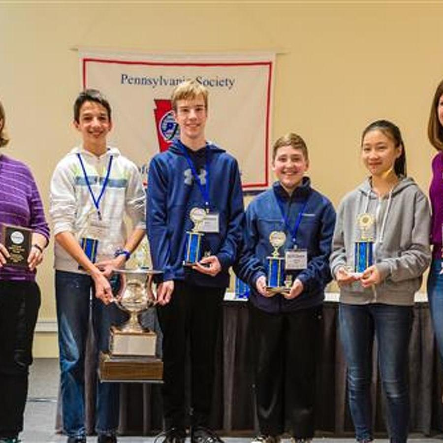 Mount Nittany Middle School Wins Statewide Math Competition