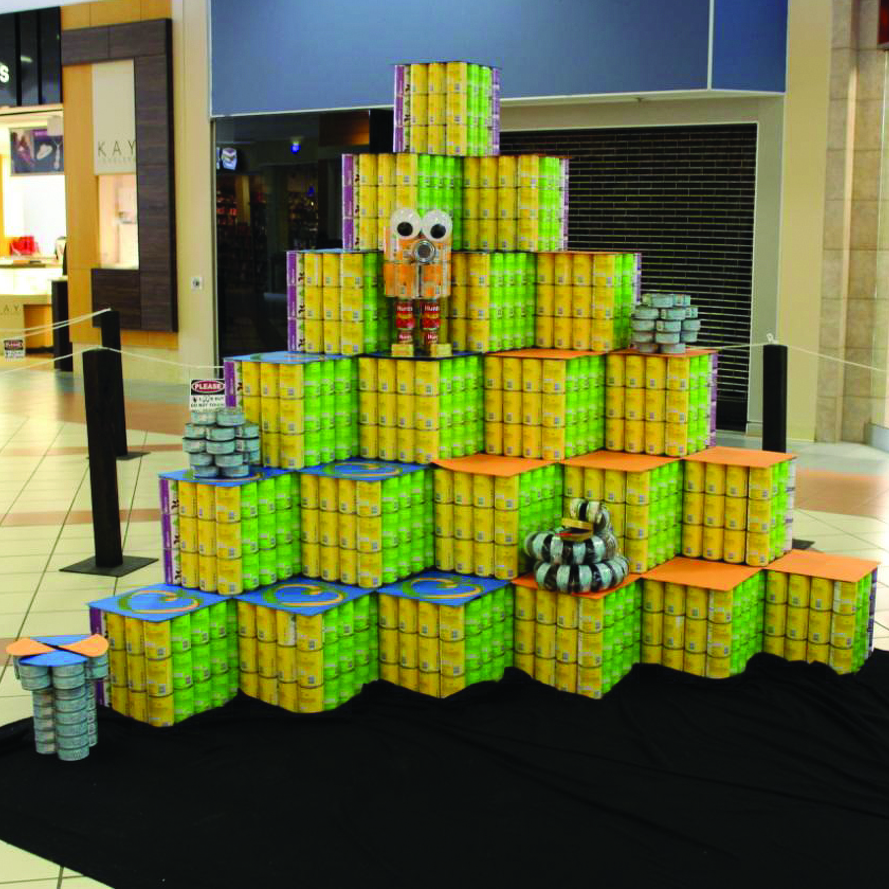 'Canstruction' projects on display through April 15