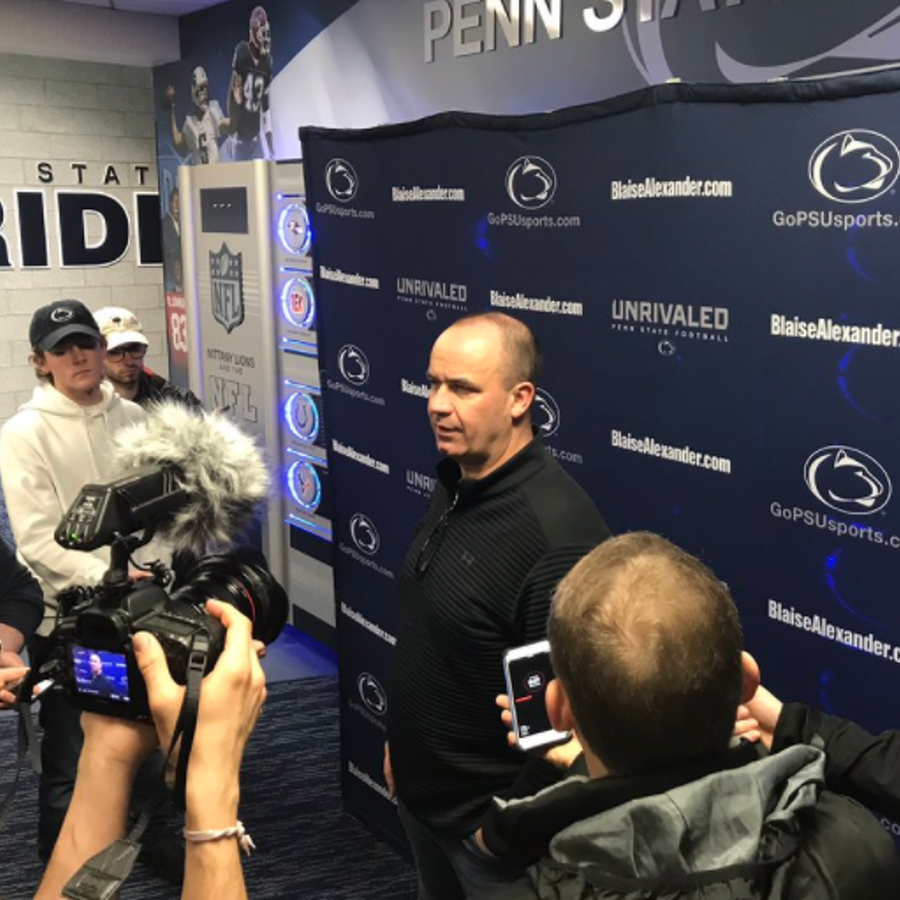 Penn State Football: O'Brien Returns To Penn State, Looks Back