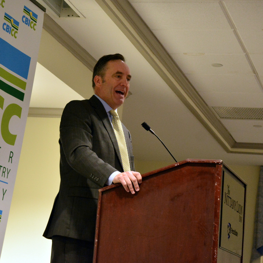Corman prioritizes school safety at CBICC luncheon
