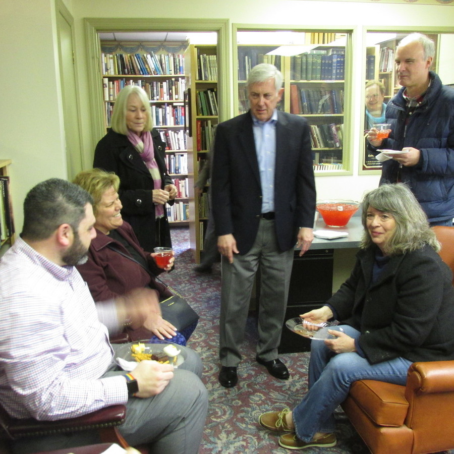 Author holds book signing in Rebersburg