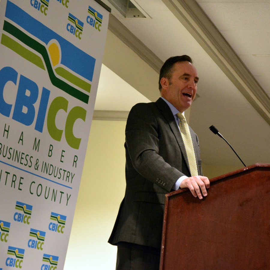 Corman Talks School Safety, Redistricting, Highway Projects at CBICC Luncheon