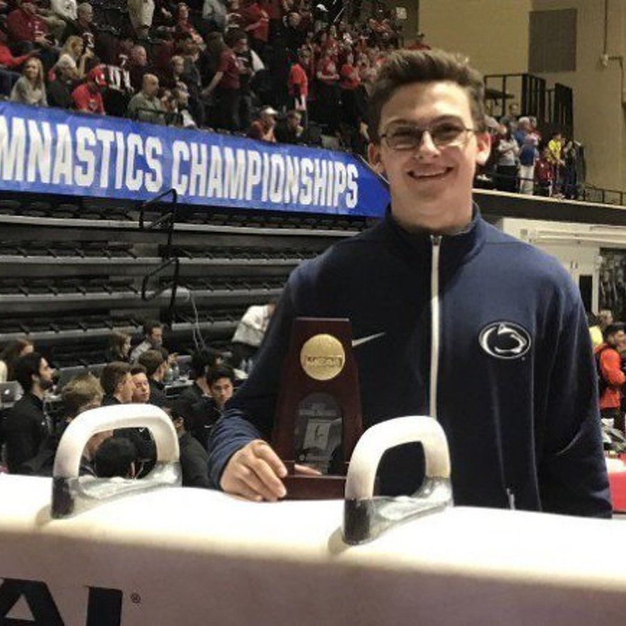 Penn State Men's Gymnastics Sophomore Crowned Pommel Horse National Champion