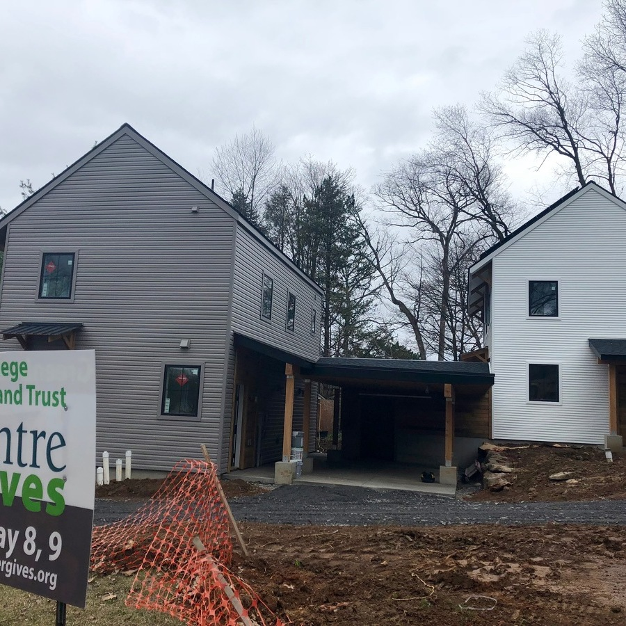 Land Trust's Energy-Efficient, Affordable Homes Near Completion
