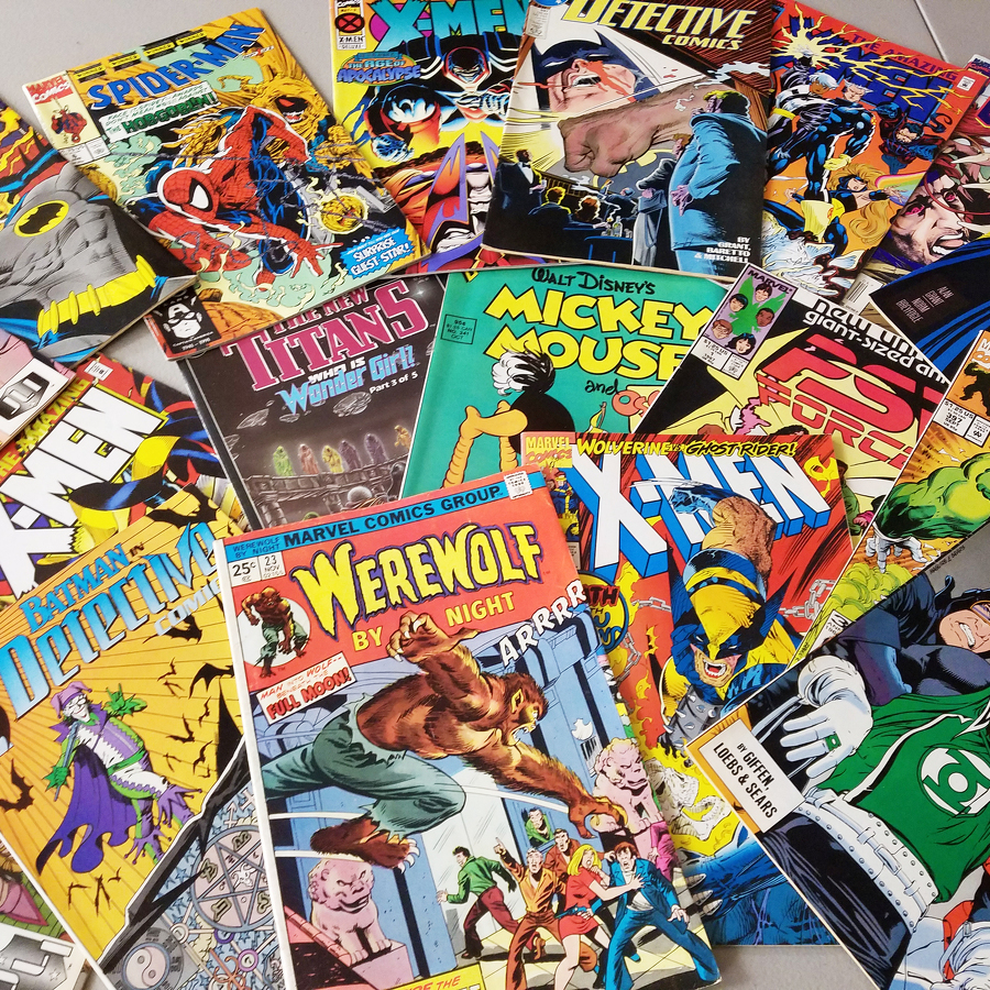 Treasure Trove of Comics Available at AAUW Book Sale