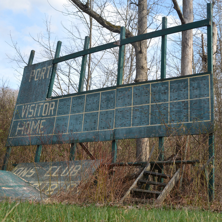 The County League lives on, but old diamonds hold only memories