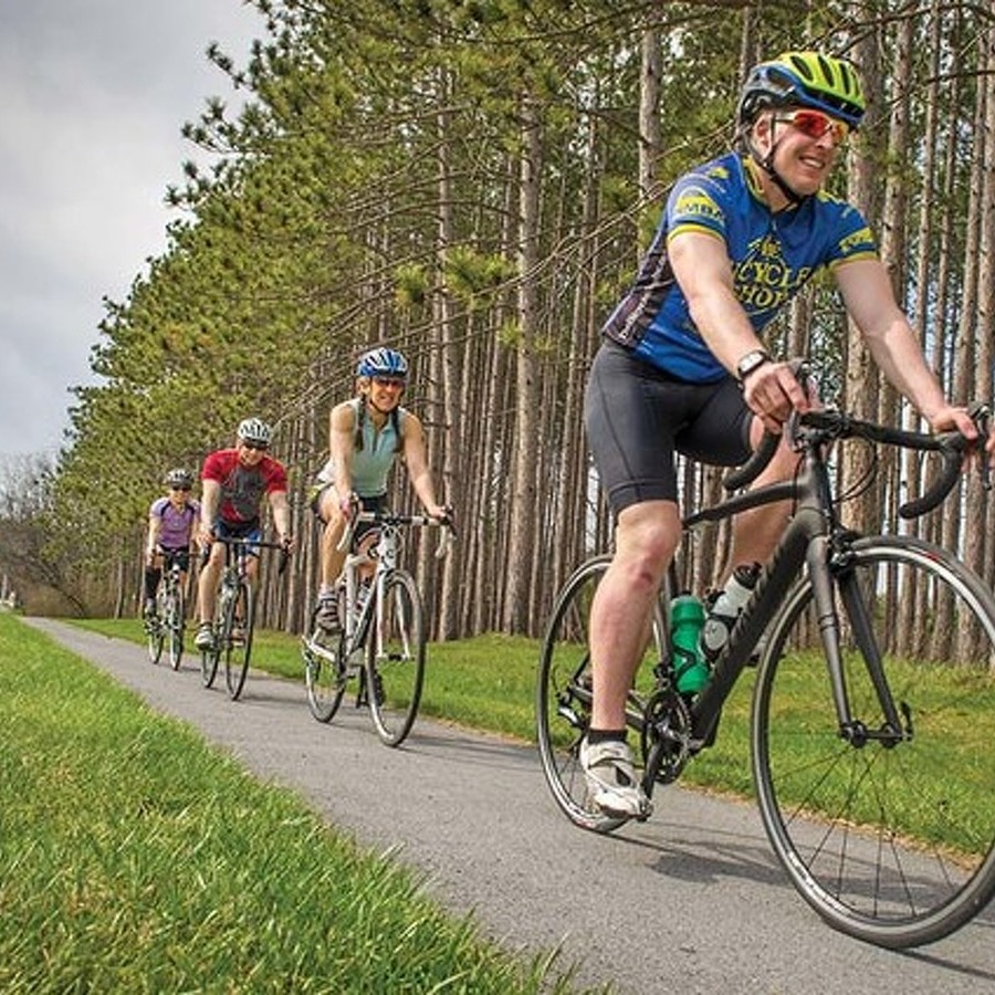Pedaling Centre: Cyclists Are Enjoying a Different View of the County