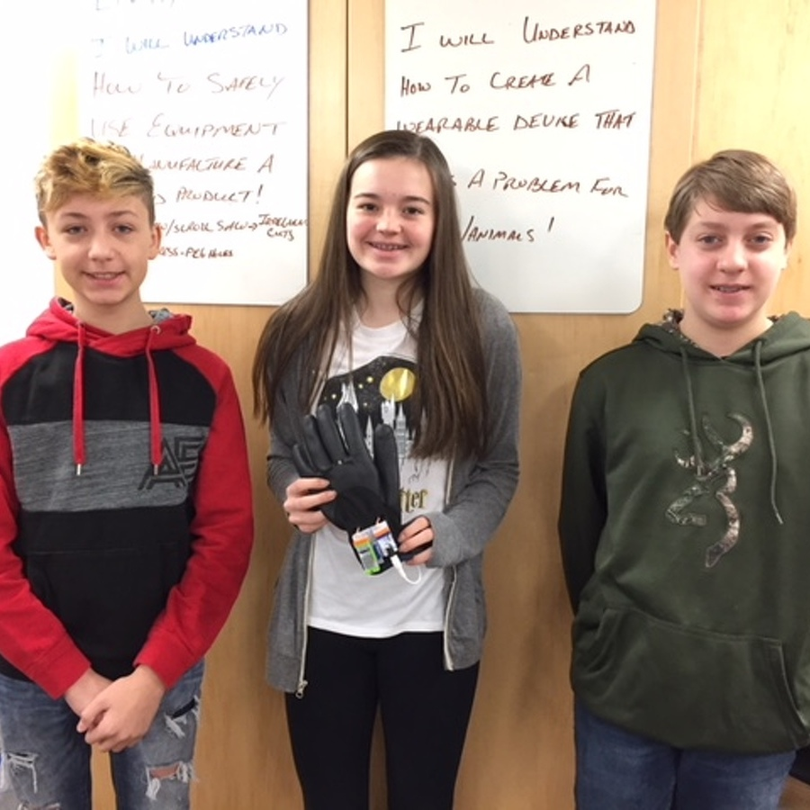 P-O students participate in Wearable Device Challenge