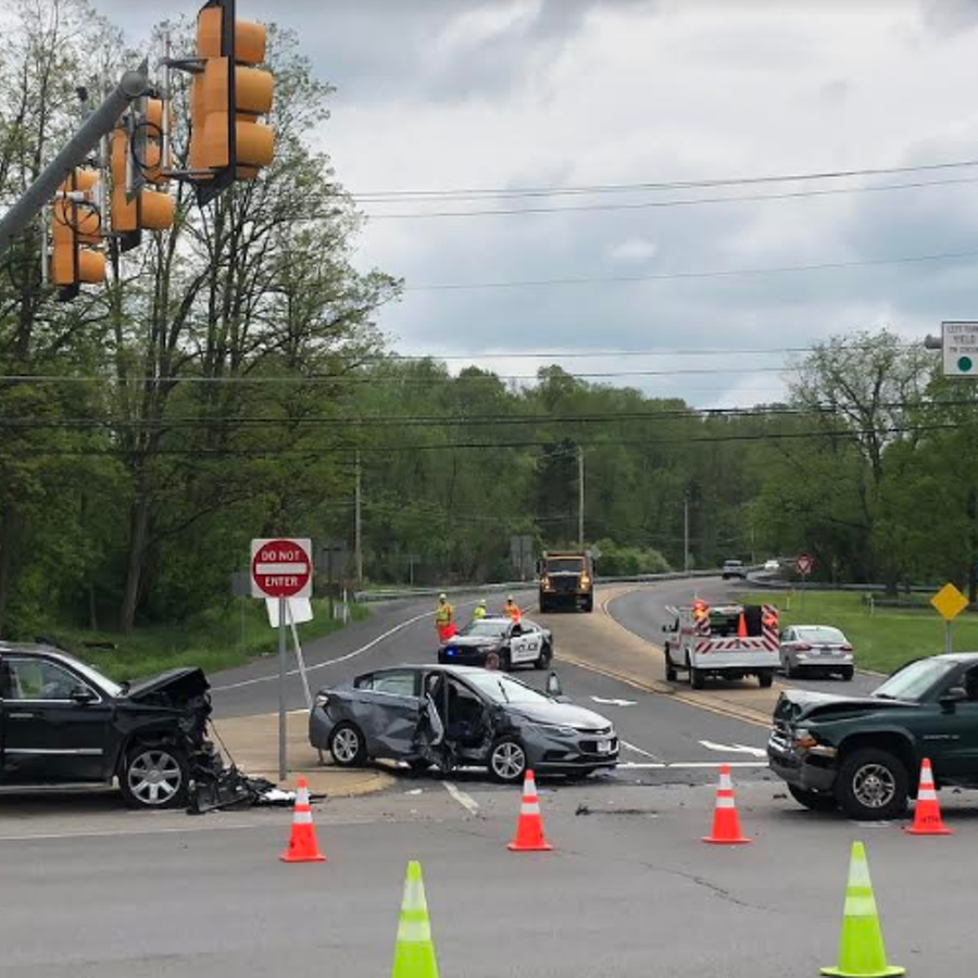 Helicopters Called to Scene of 3-Vehicle Crash