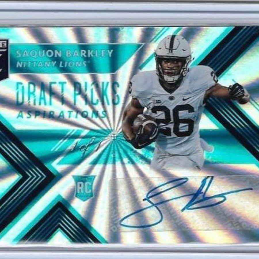 Saquon Barkley Making an Impact on Sports Card Collectibles