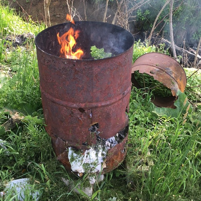 Study shows burning trash leaves toxins in soil