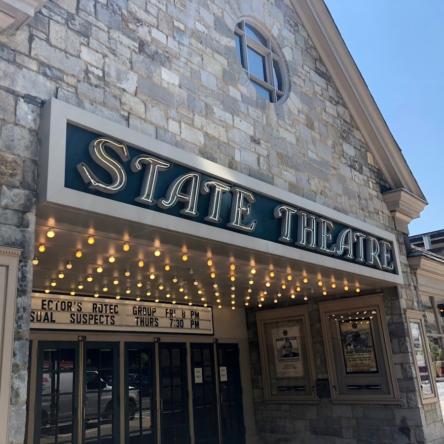 State Theatre Recognized as a State College Historic Site