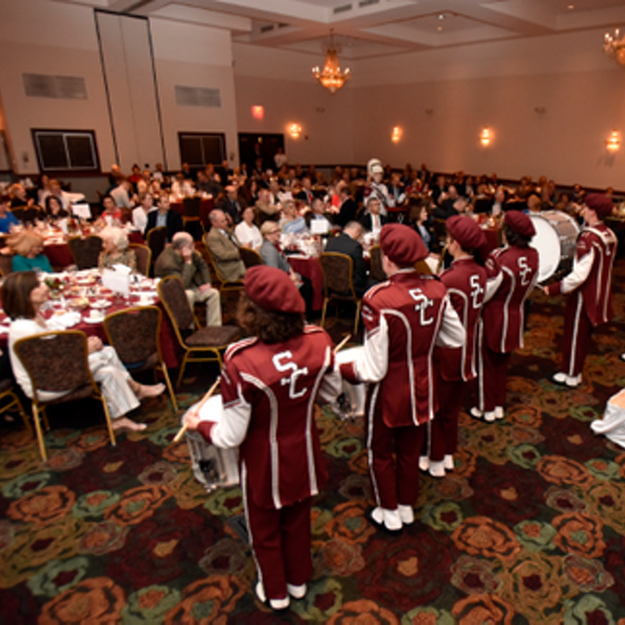 Maroon & Gray Society Banquet Raises $60,000 for New State High Band Uniforms