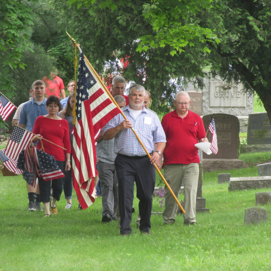 Penns Valley observes Memorial Day with services