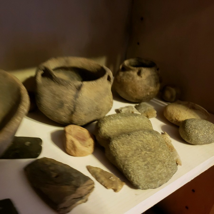 Native American artifacts are unique to regions
