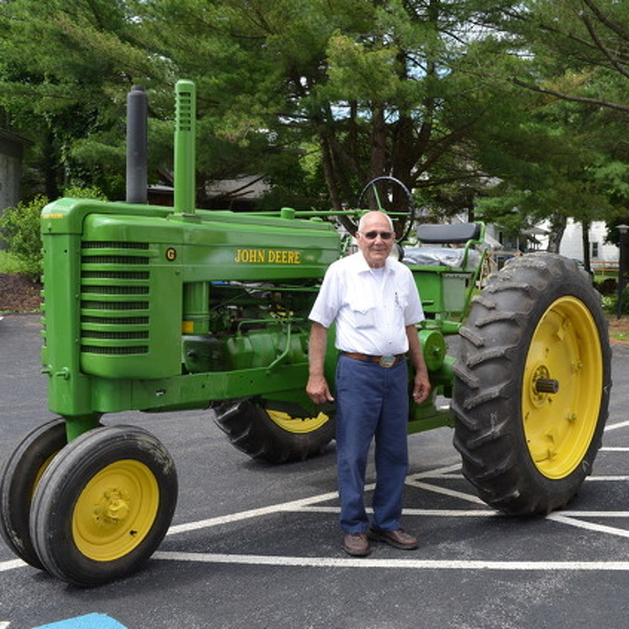 Port Matilda Man Reunited with Tractor After 43 Years