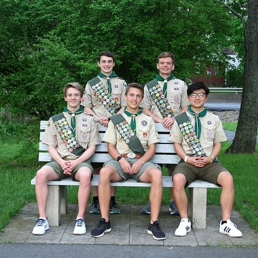 5 State High Students Earn Eagle Scout Honors