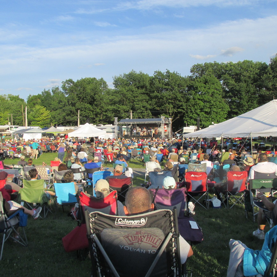 Music festival attracts bluegrass lovers to Centre Hall