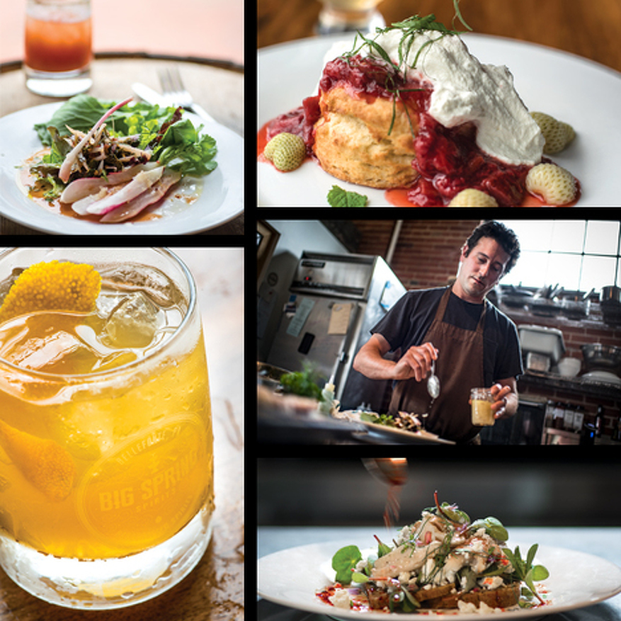 Taste of the Month: Big Spring Spirits & Chef Mark Johnson of MJ Custom Craft Cooking