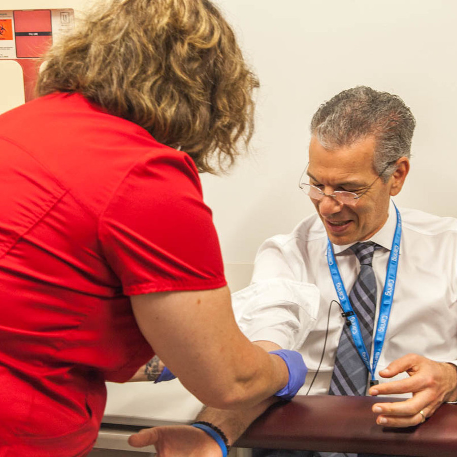 Geisinger CEO signs up as 1st patient  in new clinical DNA screening program