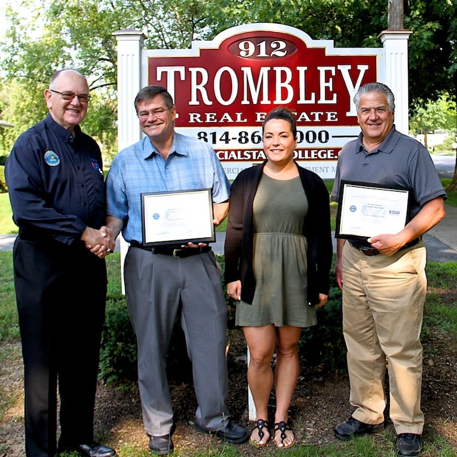 Trombley, Savino honored for support of reservist