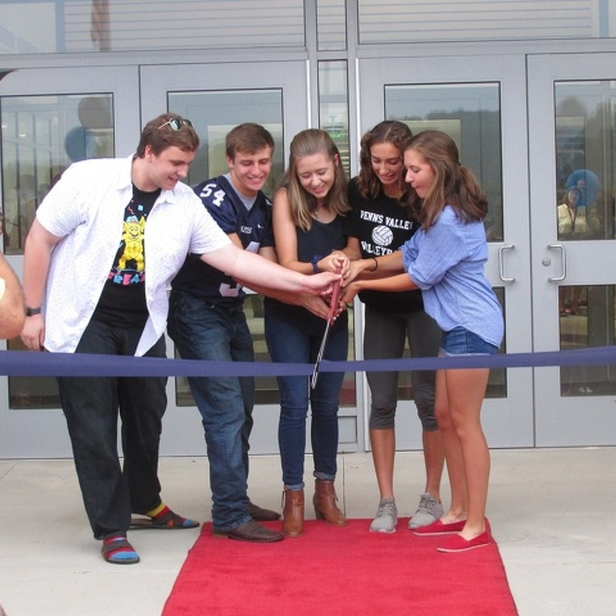 Penns Valley Celebrates Renovated High School