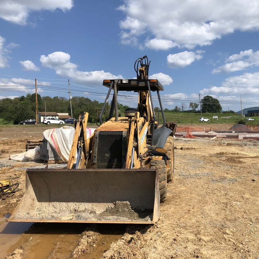 Dunkin' Donuts construction has started on the Benner Pike