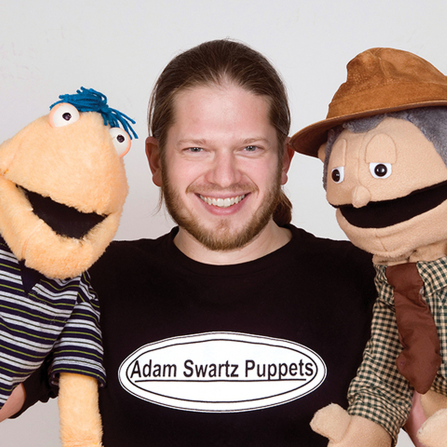 Artist of the Month: Adam Swartz Teaches Entertaining Life Lessons Through His Puppetry