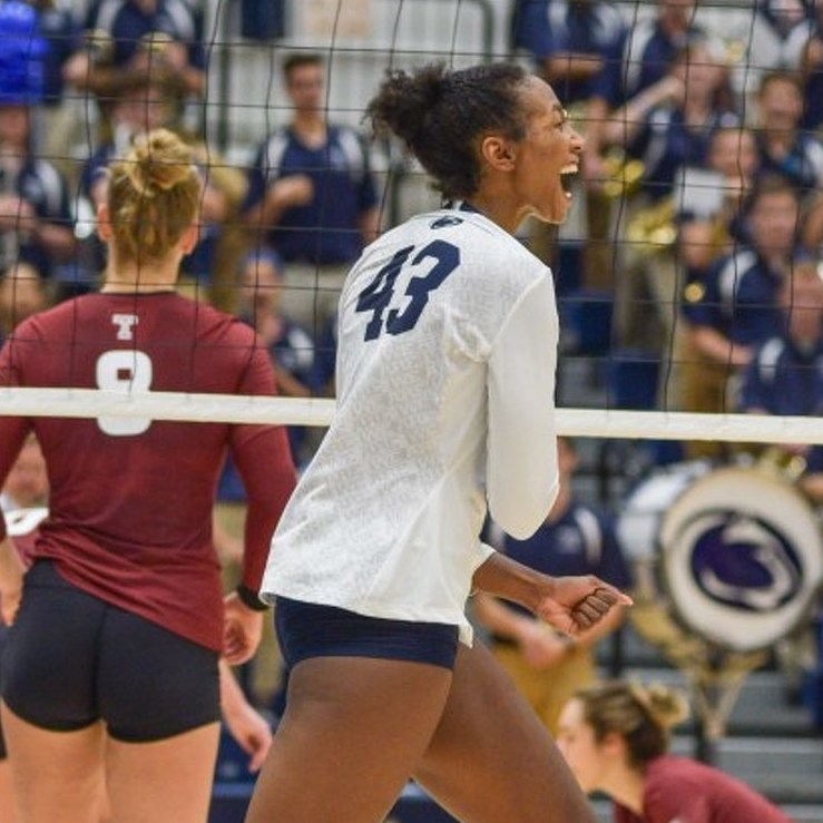 Taylor Leath's Homecoming Proving Huge for Penn State Volleyball