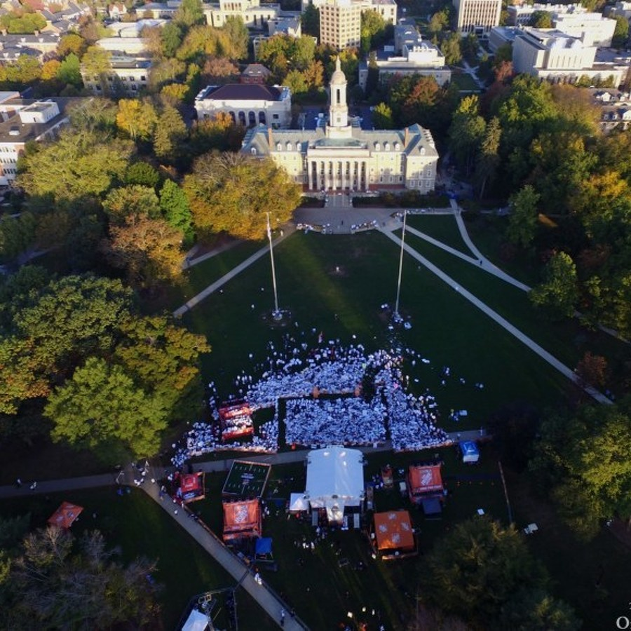 College GameDay Set for Old Main Lawn