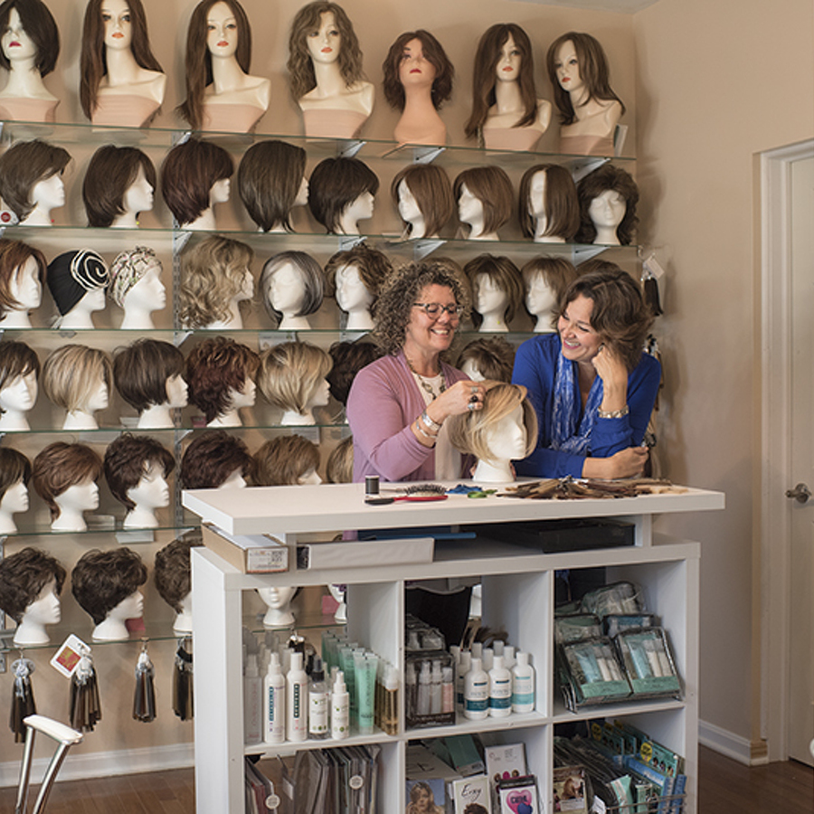 After her own personal journey, the new 'Hair Lady' finds her calling