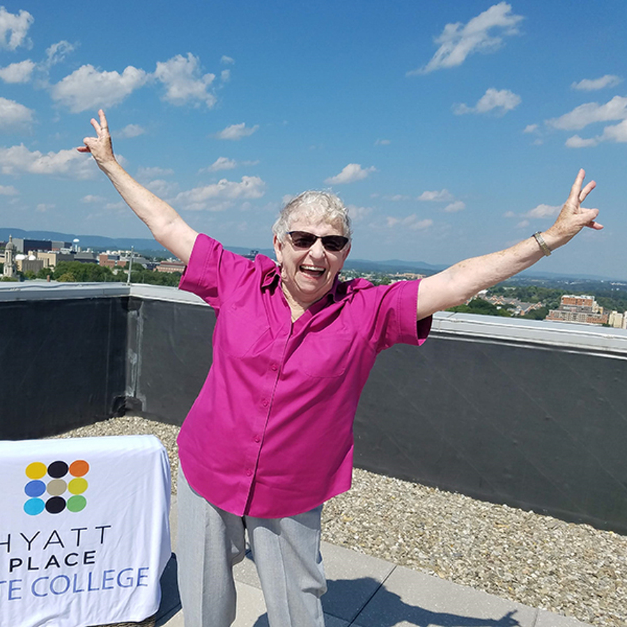 High Drama: 82-year-old Marie Cameron will be among those going 'Over The Edge' for two good causes