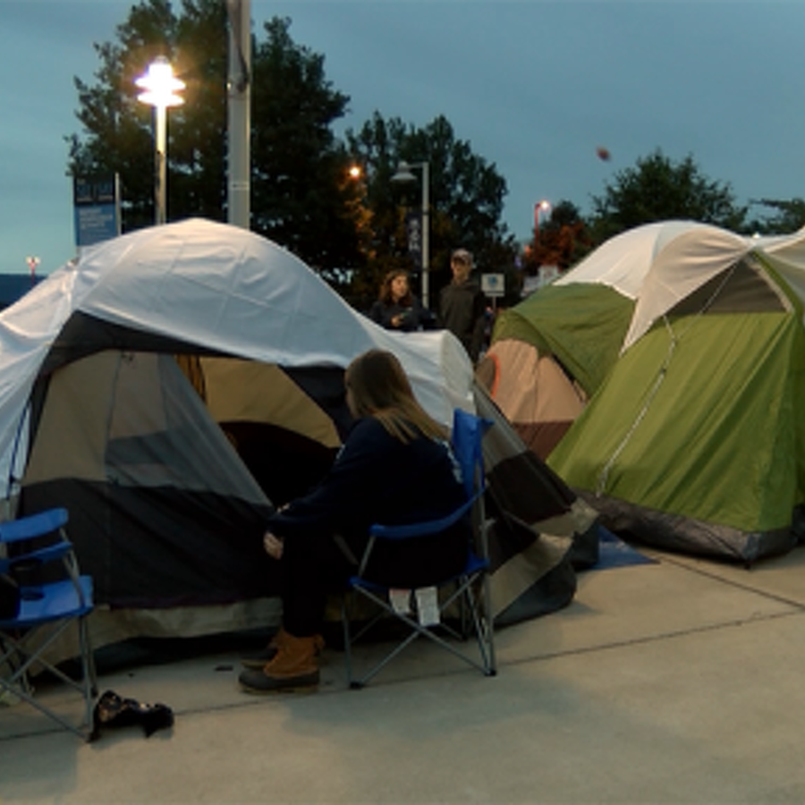 Nighttime at Nittanyville