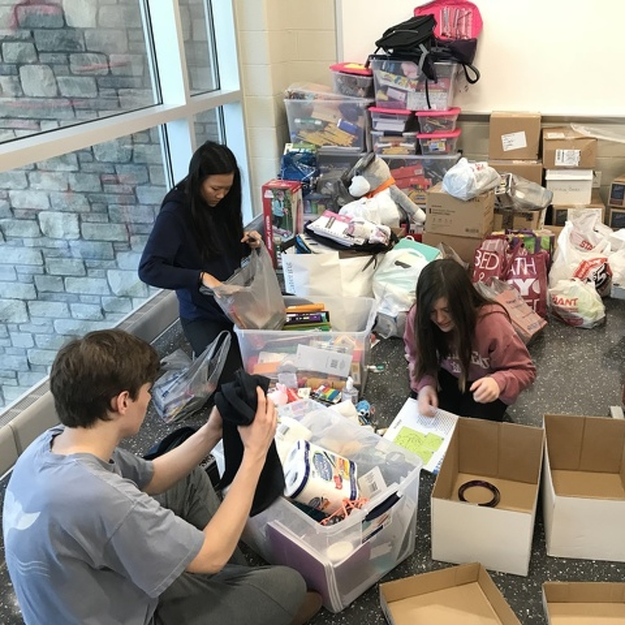 State High students organize relief effort for school district flooded by Florence