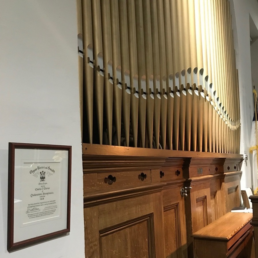 Church to celebrate pipe organ's 150th anniversary
