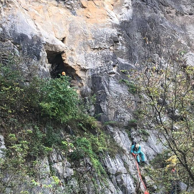 Man Rescued from Centre County Cave