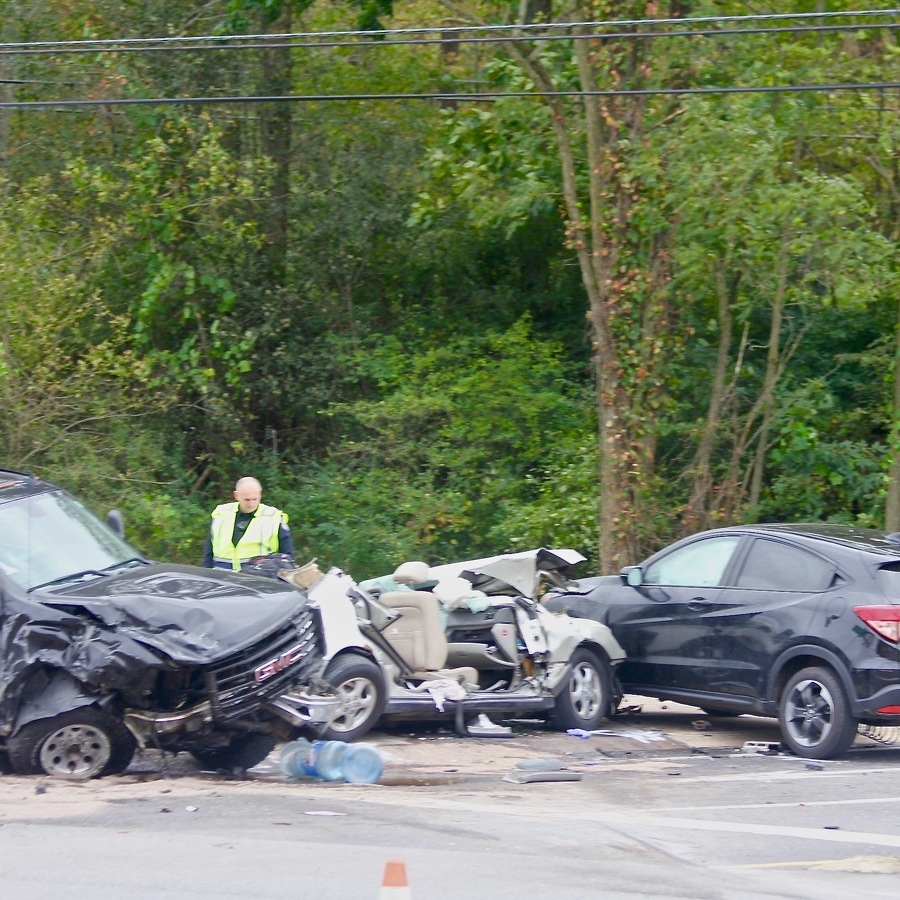 Helicopter Called to Scene of Multi-Vehicle Crash in Boalsburg