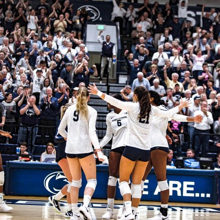 Penn State Women's Volleyball Wins Top 10 Showdown Against Nebraska